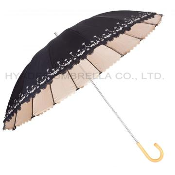 Embroidered Women's UV Umbrella