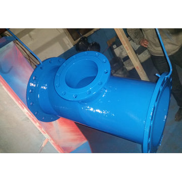 Ductile Iron All  Double Socket Tee