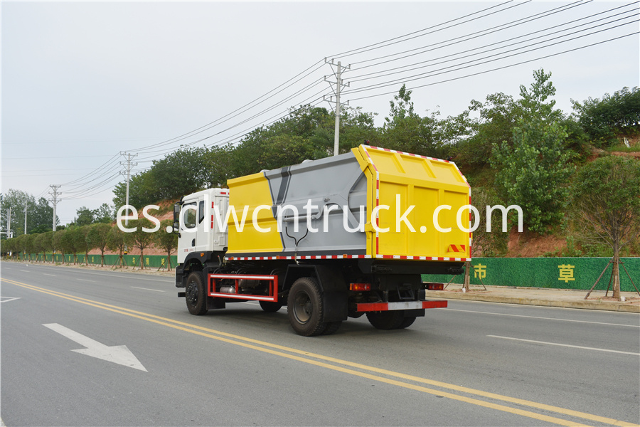 municipal solid waste collection truck price