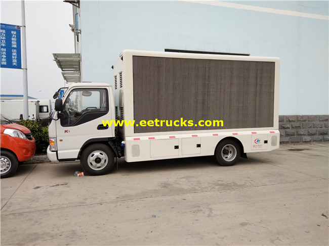P8 P10 Mobile LED Trucks