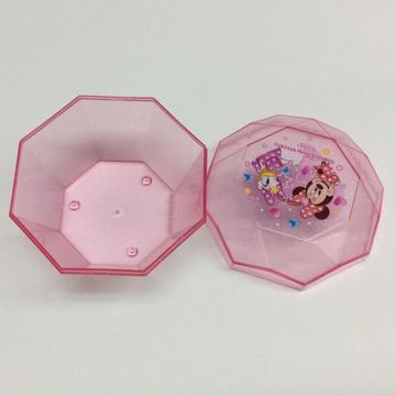 Plastic simple Disney jewelry storage box