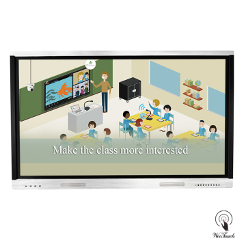 75 Inches Win / Android OS Smart LCD Whiteboard