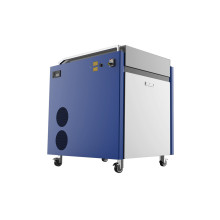 Portable laser high speed descaling machine