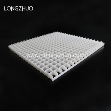 White Black Plastic Eggcrate Grille for ceiling lighting