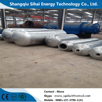 Advanced technology pyrolysis plant for waste rubber