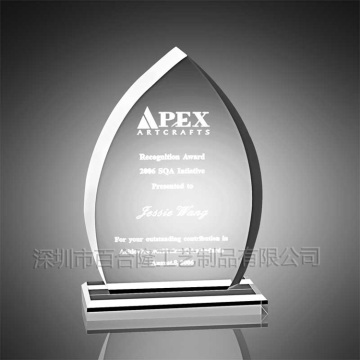 Apex Acrylic Trophy Parts Plastic