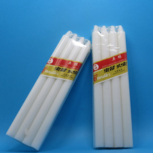 White Wax Candle to Iraq Dubai Angola