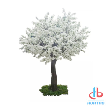 White and Pink Artificial Peach Blossom Tree
