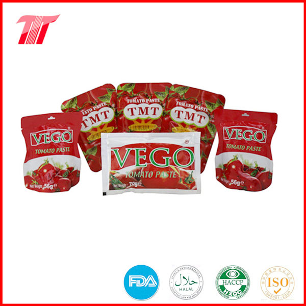 Tomato Paste in Standup Sachets