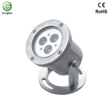 3watt Stainless Steel RGB LED Underwater Light