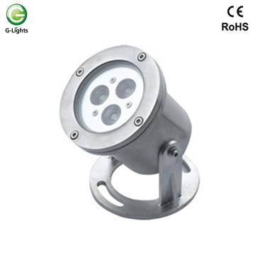Ordinary Discount for Led Underwater Light 3watt Stainless Steel RGB LED Underwater Light export to France Factories
