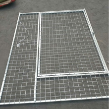 Welded Wire Mesh Iron Fence Dog Kennel