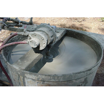 Infiltration cement pressure grouting material floor