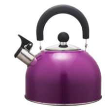 3.5L Stainless Steel color painting Teakettle purple color