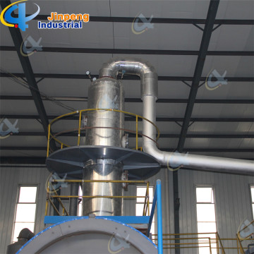 Waste Tires Oil Refining  Distillation Plant