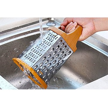 Stainless Steel 6 Sides Kitchen Cheese Grater