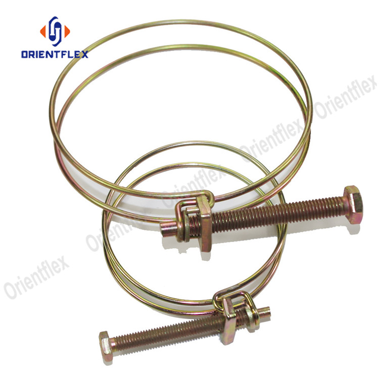 Double Wire Hose Clamp 3