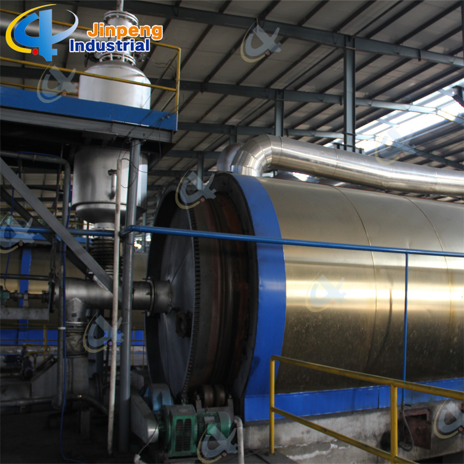 Used Tire Recycling to Oil Machinery