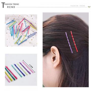 TreatMe 100pcs Colorful Bobby Pins Hair Styling Clips