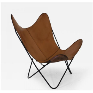Hardoy butterfly chair by metal frame