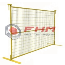 PVC Coated Canada Temporary Fence for Construction