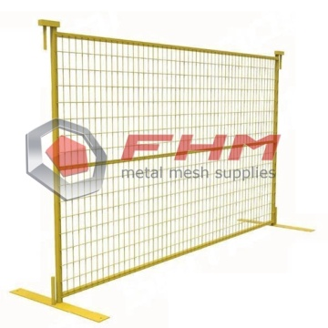 Personlized Products for Temporary Fence Panels PVC Coated Canada Temporary Fence for Construction supply to France Supplier