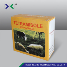 China Gold Supplier for Diclazuril For Pets Deworming Tetramisole HCl 600mg Bolus supply to India Factory