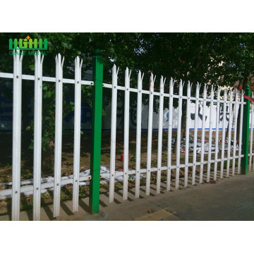 Powder Coated Steel Palisade Fence for Sale