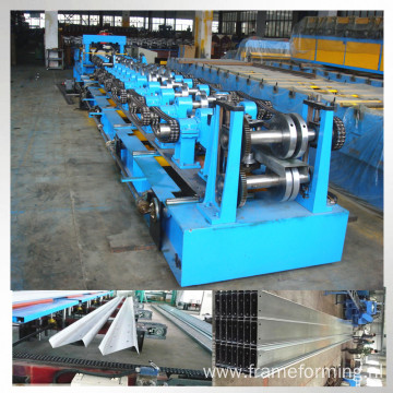 Steel z purlin channel roll forming machine