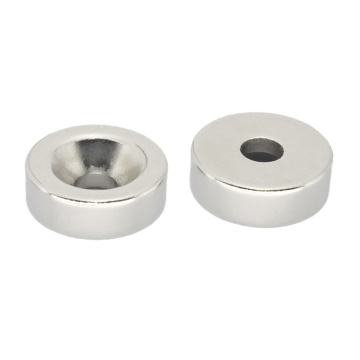 Plating Nickel Round Countersink Magnets