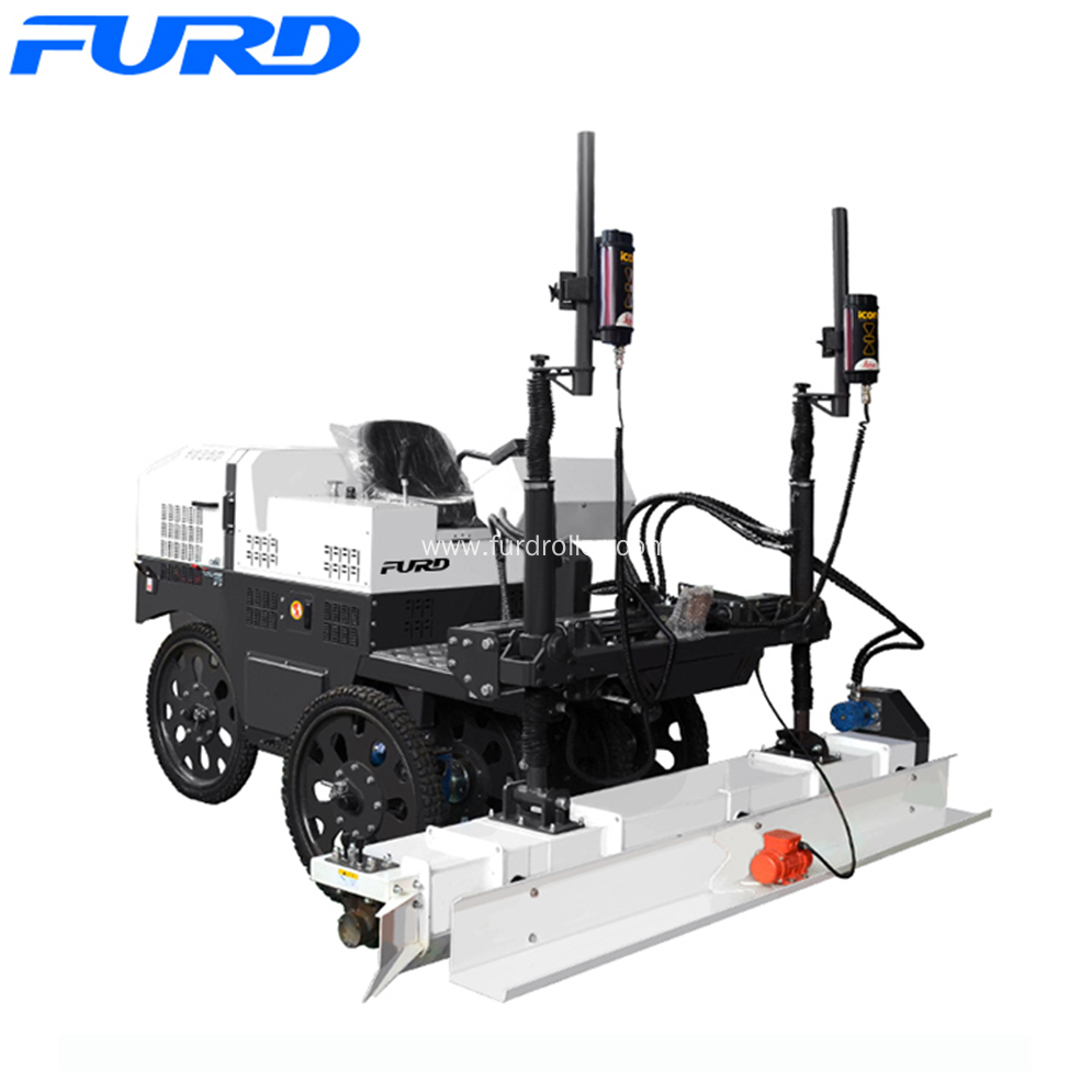 Ride-on Laser Guided Concrete Floor Leveling Machine