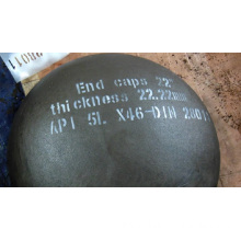 "END CAPS 22"" API 5L X46 DIN28011"