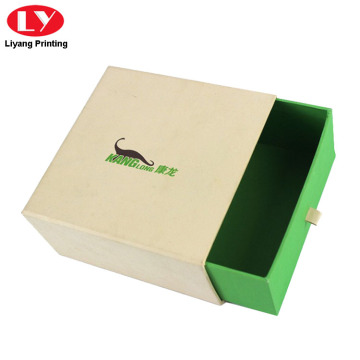 Drawer Slide Custom Logo Printed Jewelry Gift Boxes