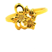 Special Design for Bouquet K Gold Ring 2018 18K Flower Ring supply to Spain Supplier