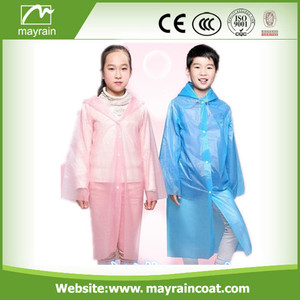 Emergency PE Raincoat for Girls and Boys