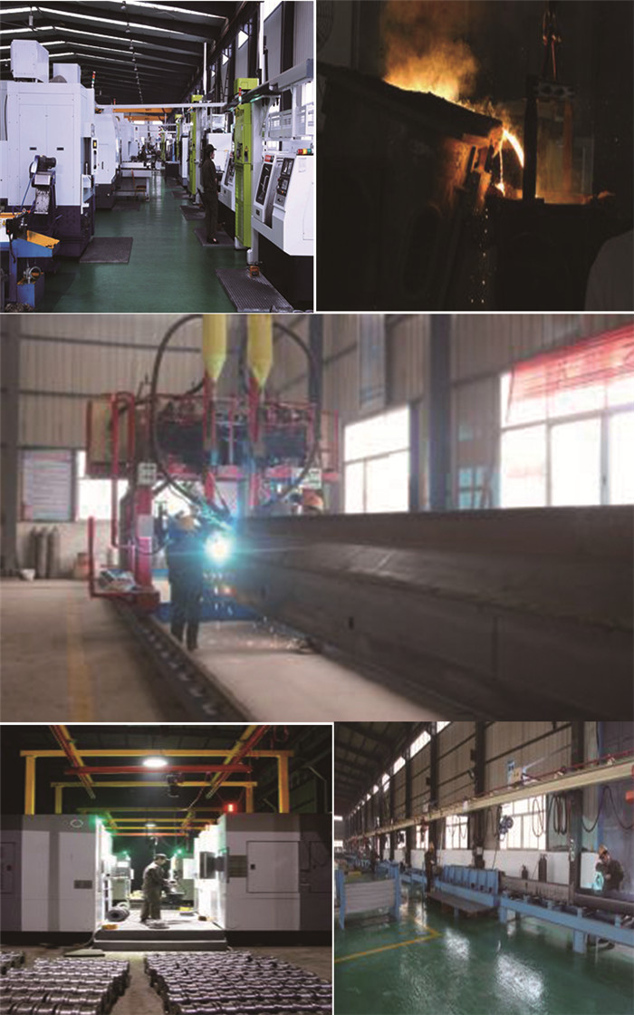 semi gantry crane processing