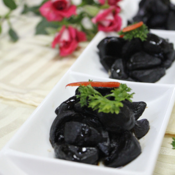 Flavor Peeled black garlic