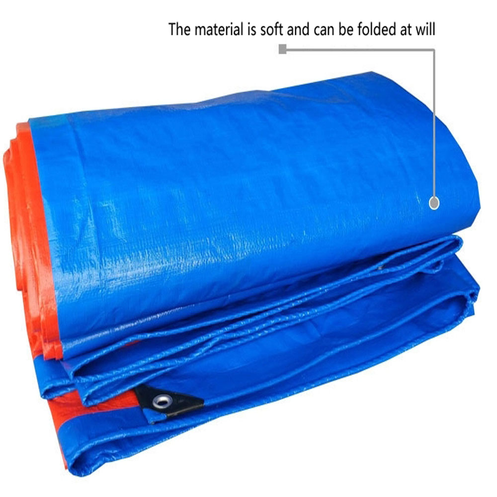 Blue Orange Sun Resistant Tarpaulin Cover