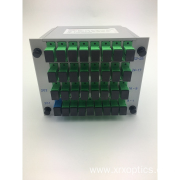 Excellent quality price for PLC Insert Splitter,Insert Splitter,PLC Optical Splitter Manufacturers and Suppliers in China SC/APC 1*32 Insert Type PLC Splitter supply to Nauru Wholesale