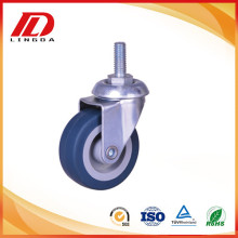 2 inch thread stem casters wheels