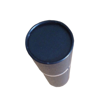 Blue Custom Tube Round packaging Paper Box