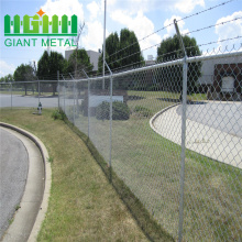 Galvanized decorative chain link fencing for sale