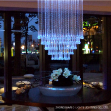 High-end Club Fiber Optic Chandelier