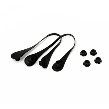 Custom Black PU Handbag Strap For OBag Classic