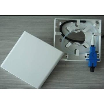 Indoor ABS Fiber Faceplate/86 Fiber Box