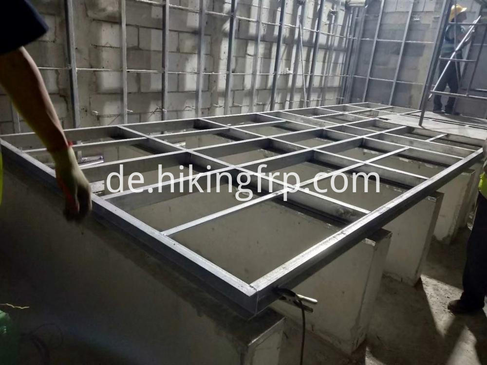 High Strength HDG Steel Water Tank