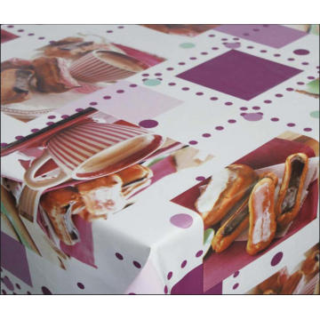 Pvc Printed fitted table covers Wide Table Runner