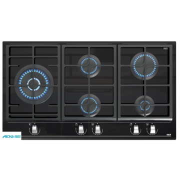 Built-in Cooking Piano 5 Burner