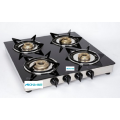 ISI LPG Gas Stove 4 Brass Burners