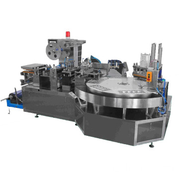 Rotary blister packaging machine